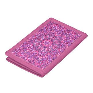 Pink n Purple Vintage Kaleidoscope Wallet