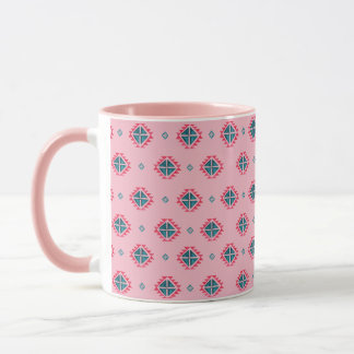 Pink native American design Coffee Mug
