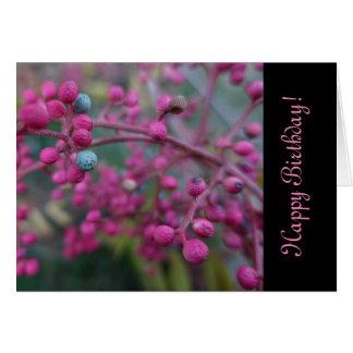 Pink Nature Card