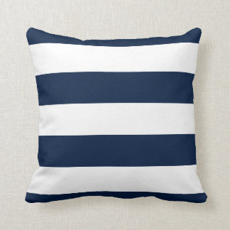 pink-navy rugby anchor pillow