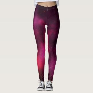 Pink nebula leggings