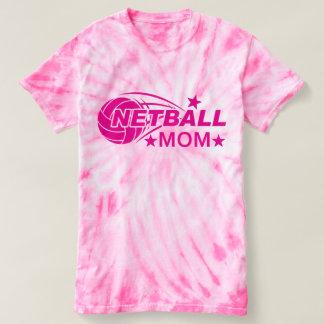 Pink Netball Mom T-Shirt