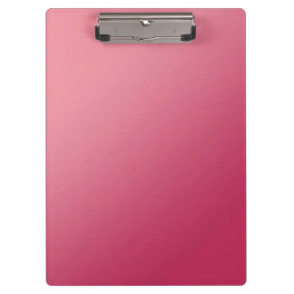 Pink Ombre Clipboard