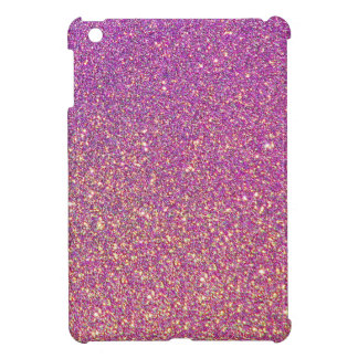 Pink Ombre Glitter Background iPad Mini Cases