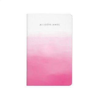 Pink Ombre Journal