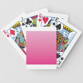 PINK OMBRE POKER DECK