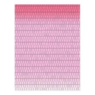 Pink Ombre Twist Postcards