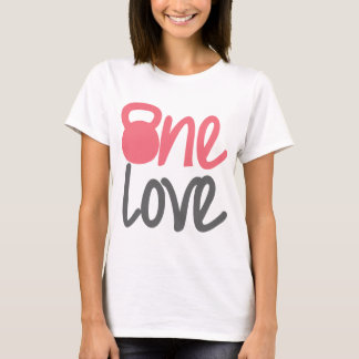 "Pink ""One Love"" T-Shirt"