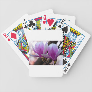 PINK ONE MAGNOLIA BICYCLE PLAYING CARDS