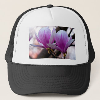 PINK ONE MAGNOLIA TRUCKER HAT