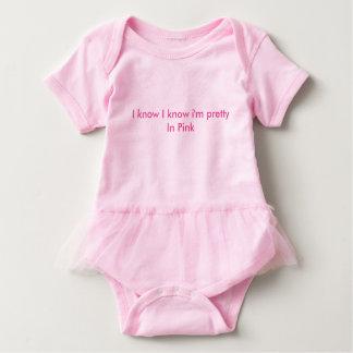 Pink One piece Tutu Baby Bodysuit
