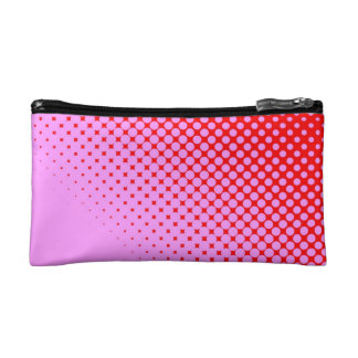 Pink or Red Small Cosmetic  Bag Cosmetics Bags