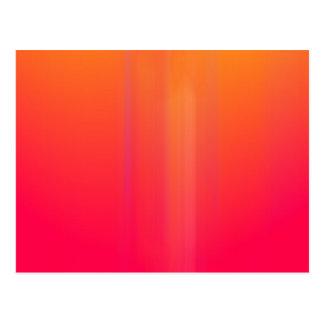 Pink & Orange Motion Blur: Postcard