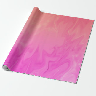 Pink Orange Texture Wrapping Paper
