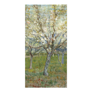 Pink Orchard by Vincent Van Gogh Customised Photo Card