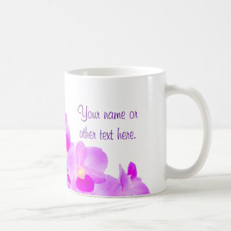 Pink Orchid Bouquet Coffee Mug