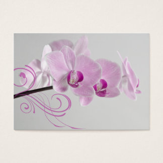 Pink Orchid Elegance Thank You Favor Tags