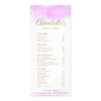 Pink Orchid Nail Salon Spa Price List Service Menu