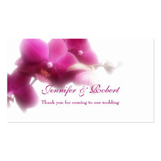 "Pink Orchid Place Card (3.5"" x 2.0"", 100 pack) Pack Of Standard Business Cards"