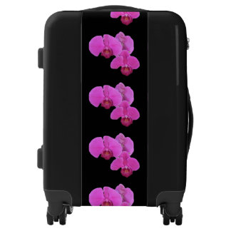 Pink Orchids Luggage