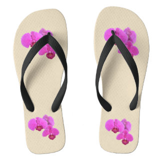 Pink Orchids Thongs