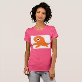 Pink original t-shirt with Octopus