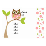Pink Owl Baby