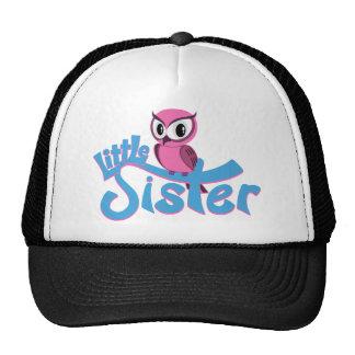 Pink Owl Little Sister Hat