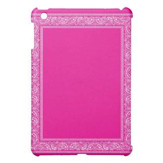 Pink Paisley Bandana iPad Case