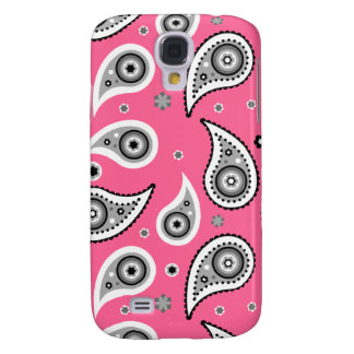 Pink Paisley Case Samsung Galaxy S4 Cases