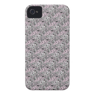 Pink paisley iPhone 4 cover
