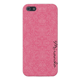 Pink Paisley iPhone 5/5S Case