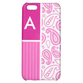 Pink Paisley Pattern iPhone 5C Covers