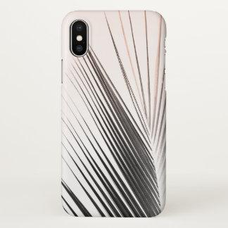 Pink Palm Leaf iPhone X case