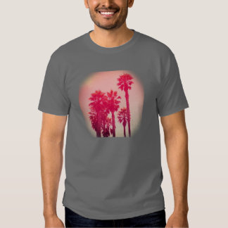 Pink Palm Trees T-shirt