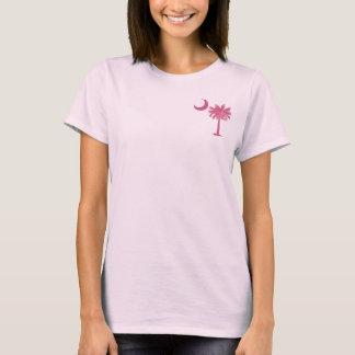 Pink Palmetto Pocket T-Shirt