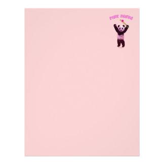 Pink Panda Cricket 21.5 Cm X 28 Cm Flyer