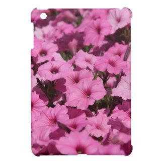 pink pansy cover for the iPad mini