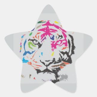 Pink Panther Madness Star Sticker