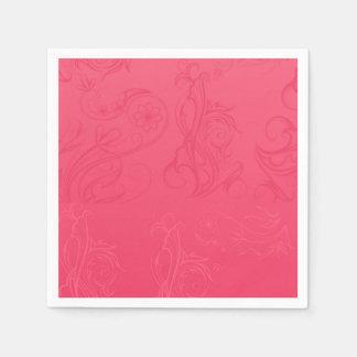 Pink Paper Napkins Paper Napkin