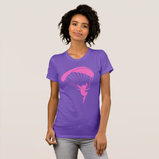 Pink Paragliding Pixie Tshirt