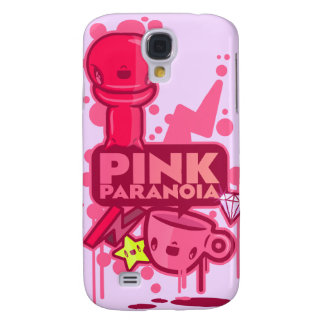 Pink Paranoia Galaxy S4 Cover
