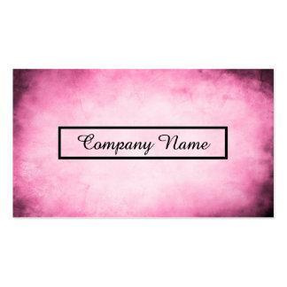 pink parchment business cards