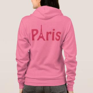 Pink Paris Hoodie