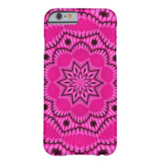 Pink Passion Fruit Fractal Barely There iPhone 6 Case
