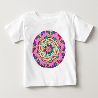 Pink Passionflower Baby T-Shirt