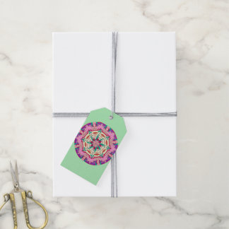 Pink Passionflower Gift Tags
