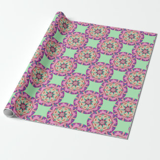 Pink Passionflower Wrapping Paper