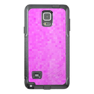 Pink Pastel Mosaic Tile Pattern, OtterBox Samsung Note 4 Case