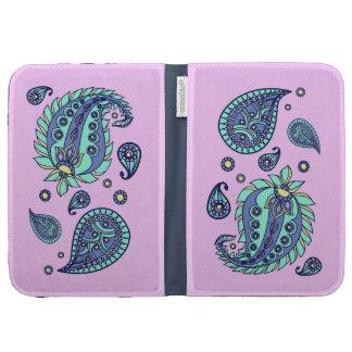 Pink Pastels Paisley Kindle Case